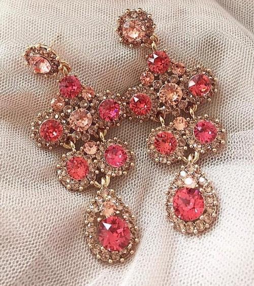 Kate  Örhängen  Indian pink