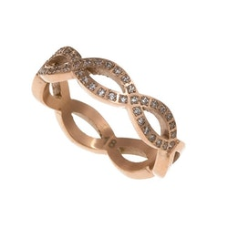 Infinity Ring  Rosé