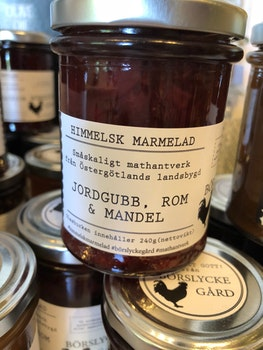 Himmelsk Marmelad  Jordgubb, Rom & Mandel