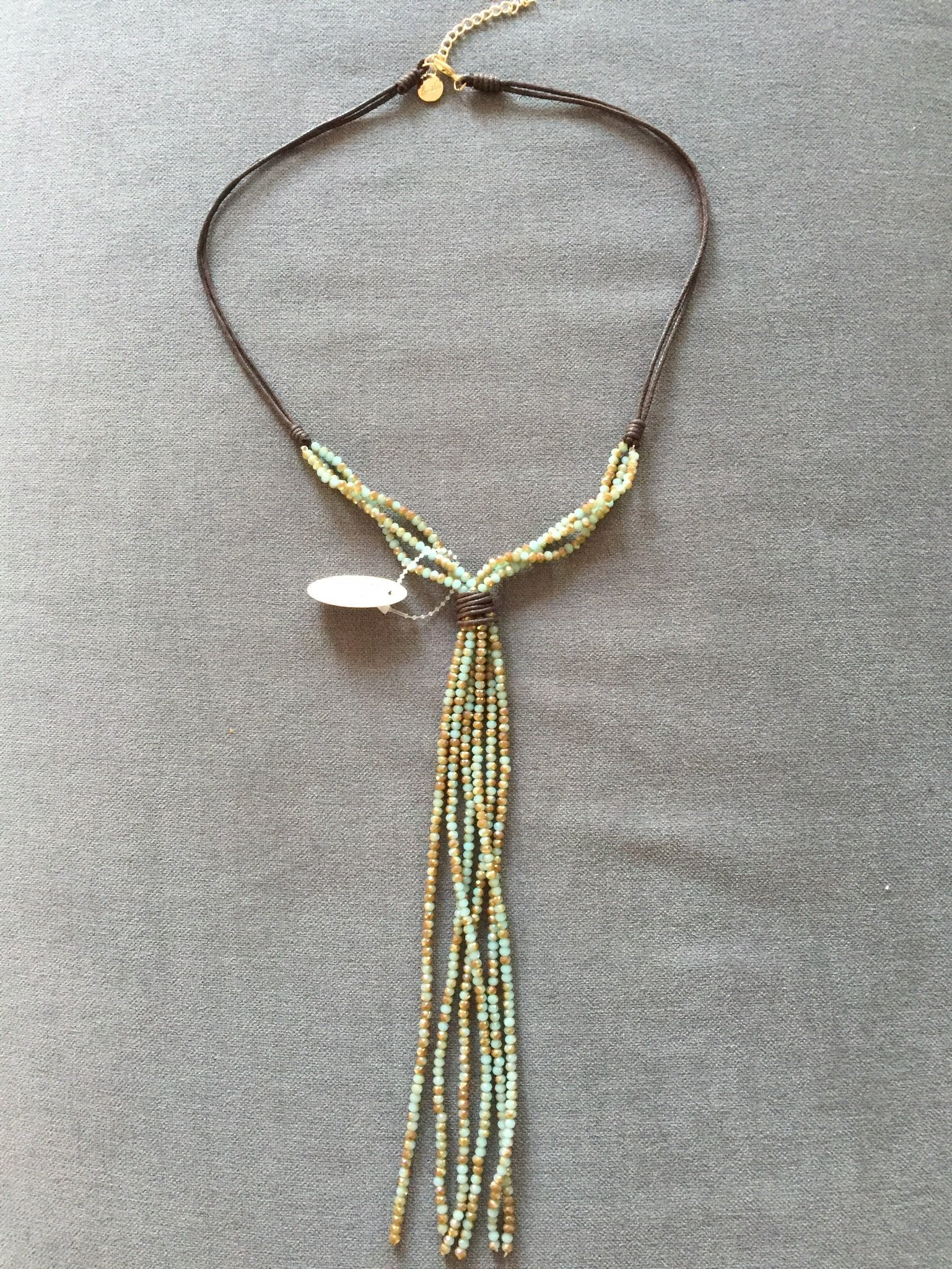 Indra  Halsband  Grön