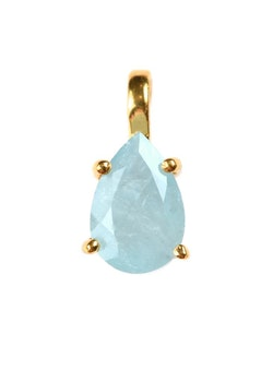 Adorable  Berlock   Pear Cut Aquamarine