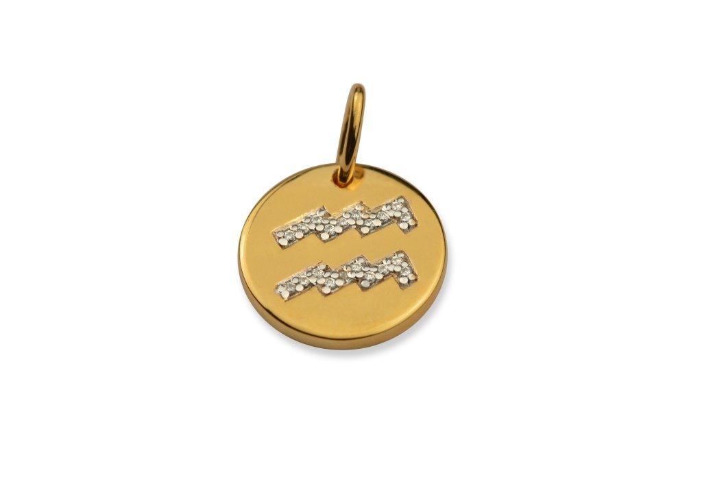 Stjärntecken  Berlock  Guld
