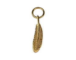 Dangling Feather  Guld
