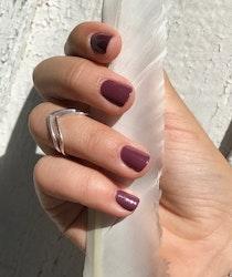 Tiny  Ring  Arrow  Silver