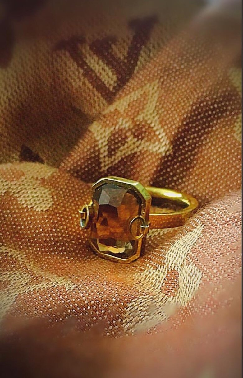 Chanelle  Ring Guld
