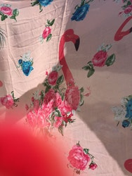 Flamingo Sjal/Sarong  Rosa eller Blå