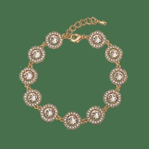 Miranda Armband  Light silk/Guld