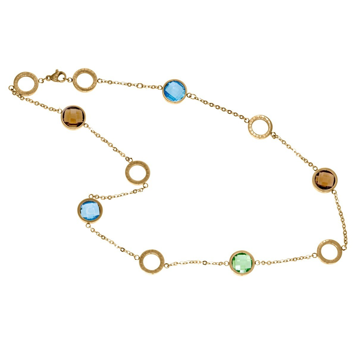 Mikaela Halsband Mini Gold