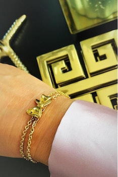 Molly Armband Deluxe Steel eller Guld
