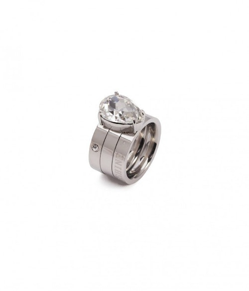 Blaze Ring Clear/Steel