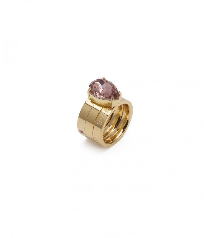 Blaze Ring Pink/Gold