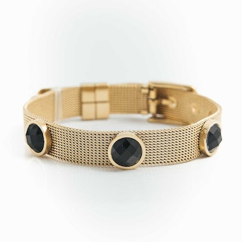 Adele Armband Black/Gold