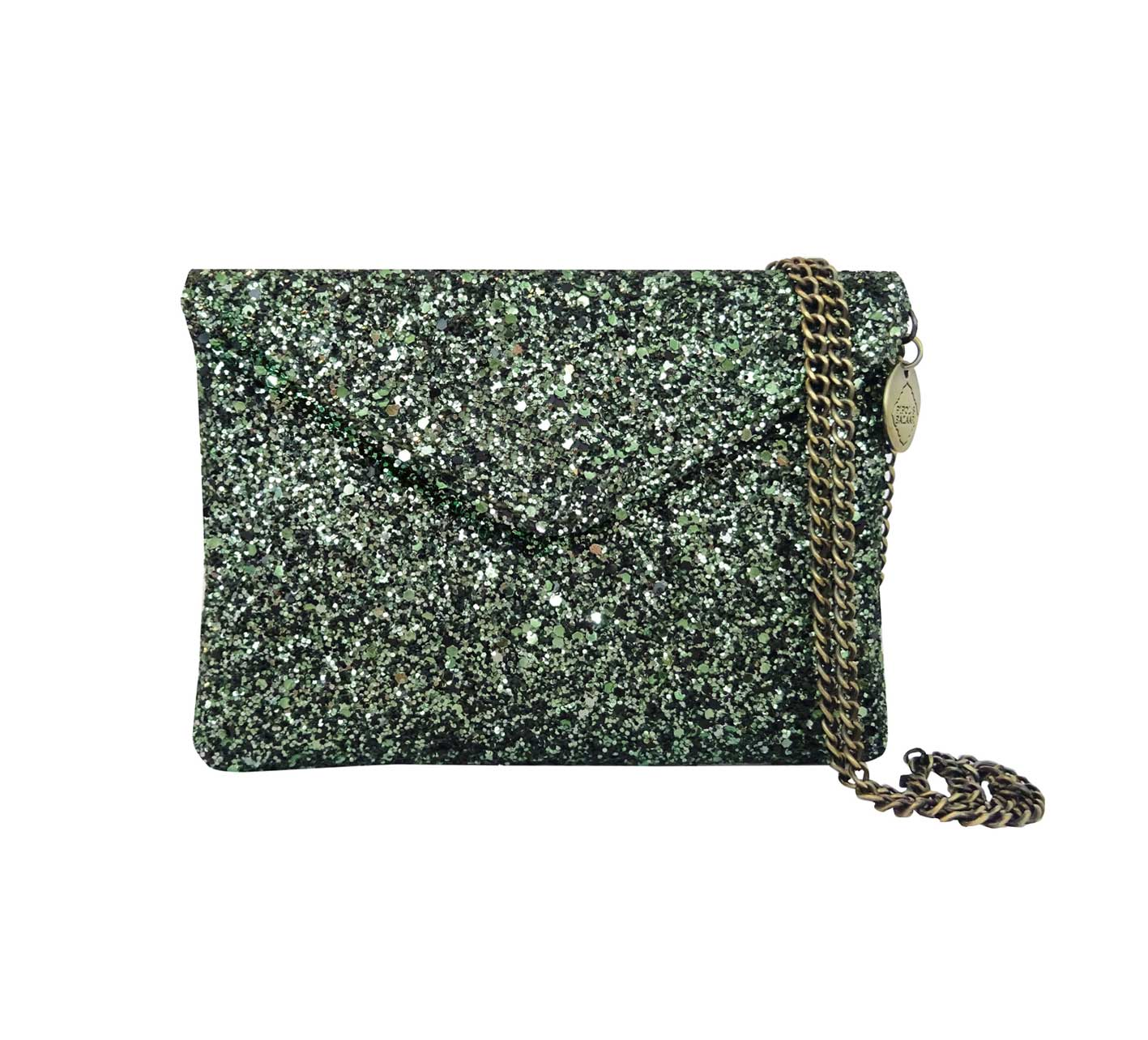 Gala Evening Clutch Green