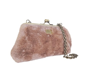 Fiesta Furry Clutch Dusty