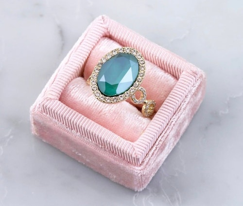 Lively Ring Royal Green