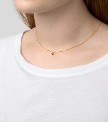 Minimalistica Solo Halsband black/gold