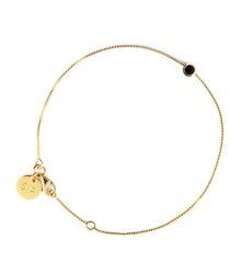 Minimalistica Solo Armband Black/Gold