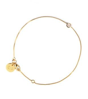Minimalistica Solo Armband  Crystal/Gold