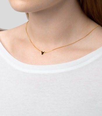Bulls Halsband Svart/Guld