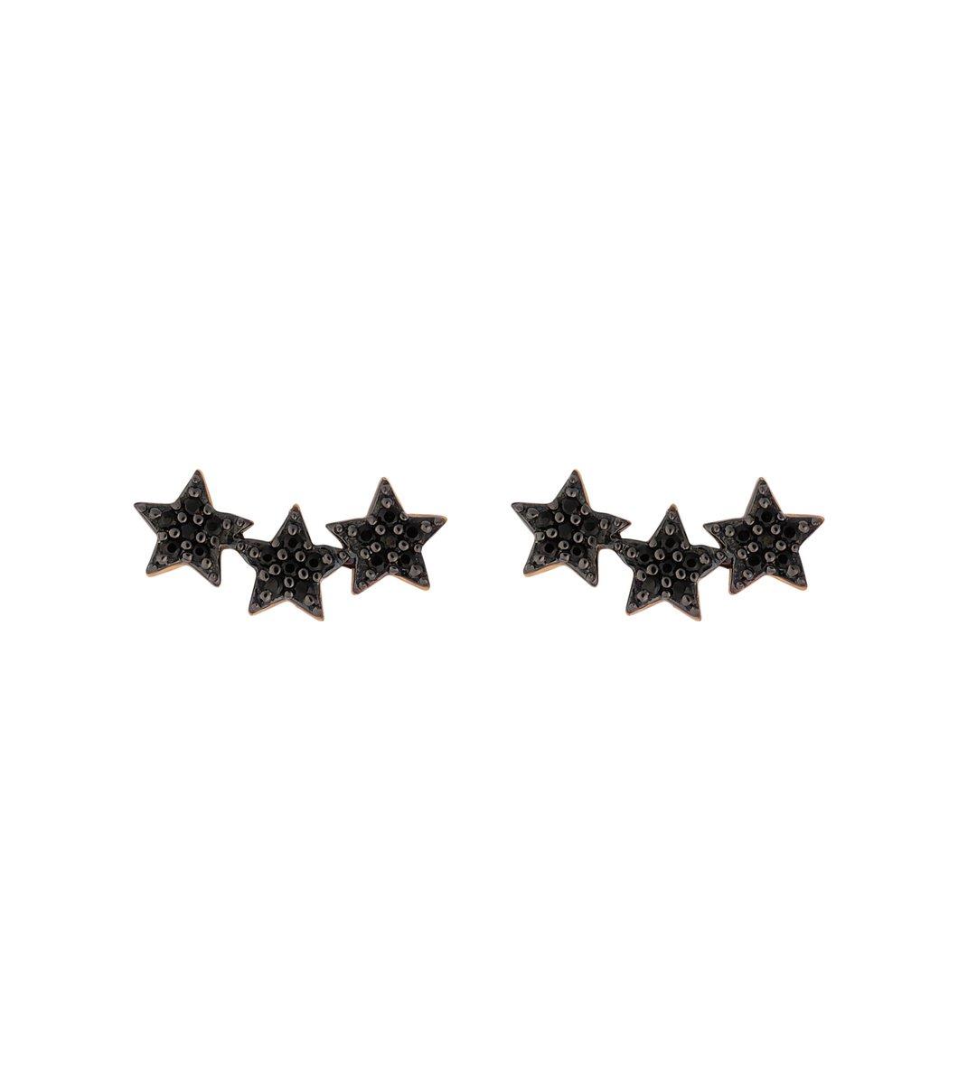 Triple Star Örhängen