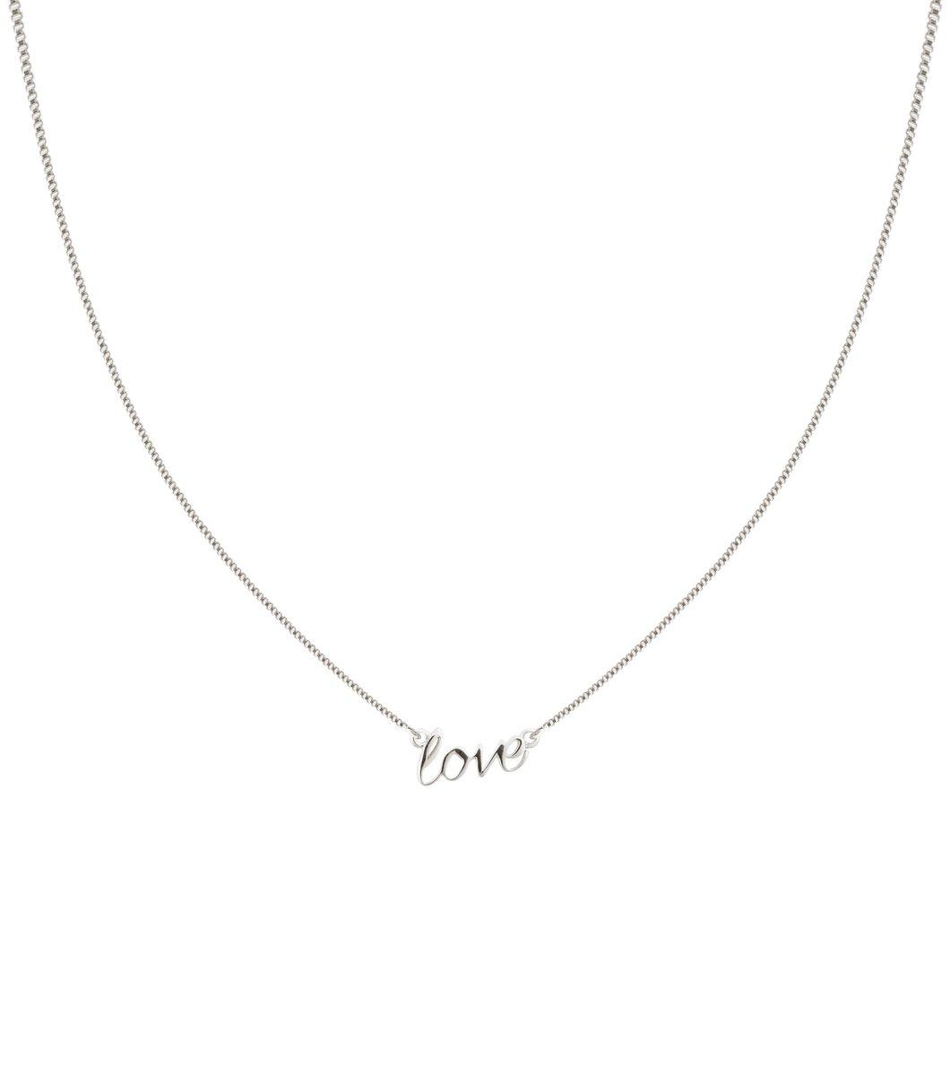 Love Halsband Silver