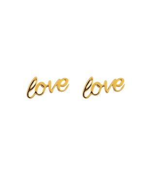 Love Örhängen Guld