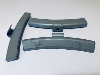 Slagvikter till alu-fälg Zn 50 g 50 st