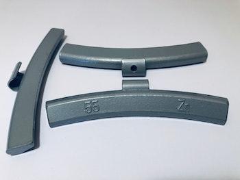 Slagvikter till alu-fälg Zn 55 g 50 st