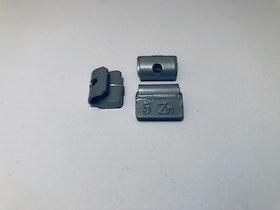 Slagvikter till stålfälg Zn 5 g 100 st