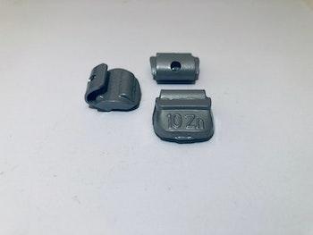 Slagvikter till stålfälg Zn  10 g 100 st