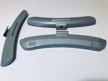 Slagvikter till stålfälg Zn 60 g 50 st