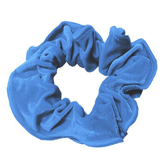 Royalblå hårstrikk - Nervøs fløyel