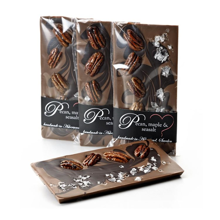 artisan bar - pecan, maple & seasalt