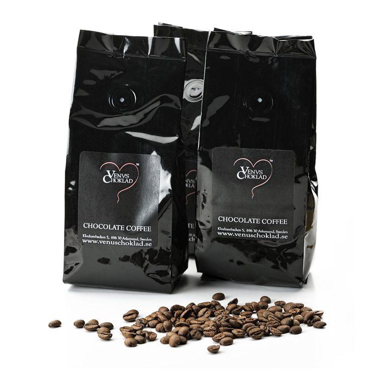 choklad kaffebönor
