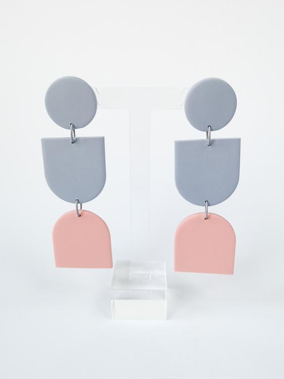 UNNI (gråblå/rosa)