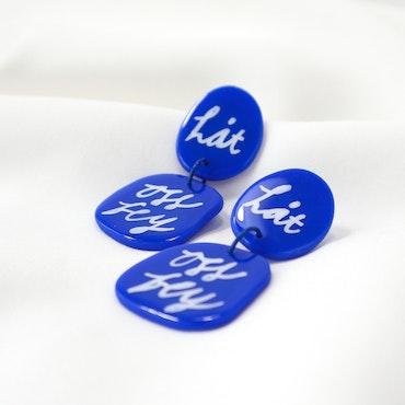 LÅT OSS FLY (blå)