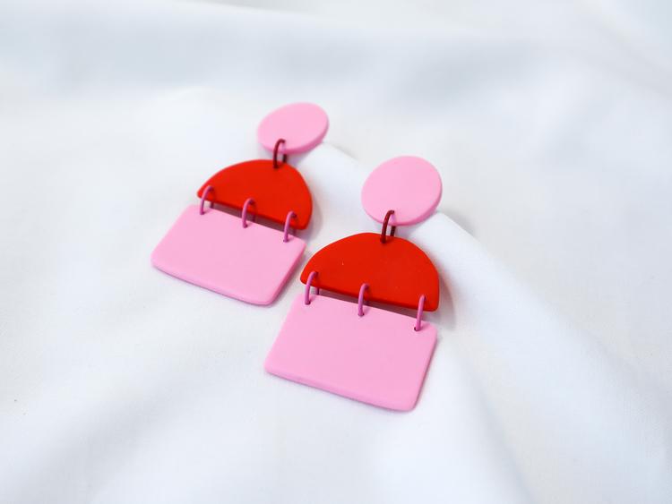 TRIPPEL (rosa/röd)