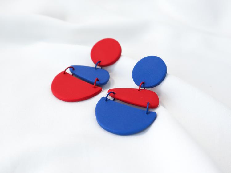 STOJA (blå/röd)