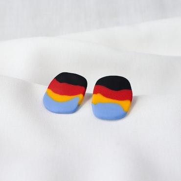 MINI-STRIMMA (svart/röd/gul/blå)
