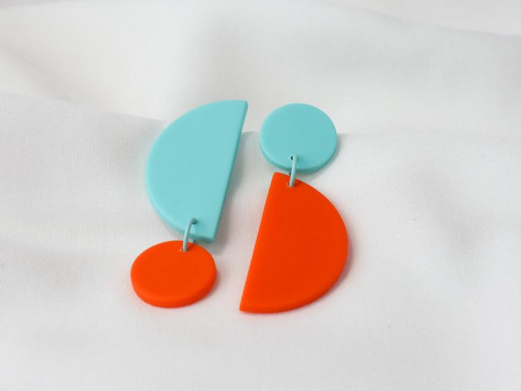 RÄT & AVIG (orange/turkos)