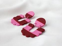 SCALLOP (rosa/vinröd)