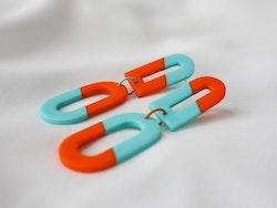 ODA (orange/turkos)