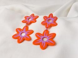 GERBERA (orange/lila)