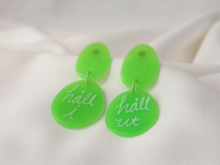 HÅLL I, HÅLL UT (grön)