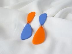NUDDA (blå/aprikos)