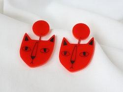 KATT (röd/svart)