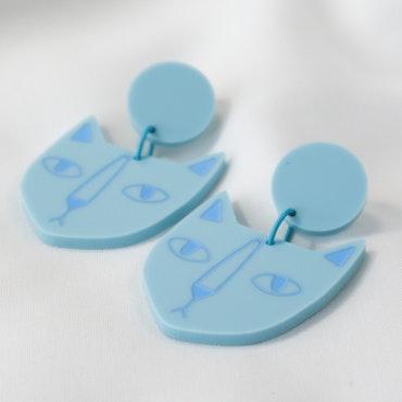 KATT (Blå/blå)