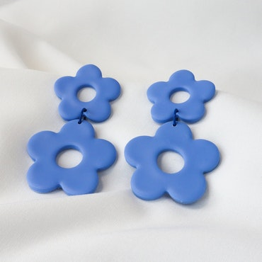 BLOMMA (blå)