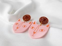 KATT (rosa/orange)