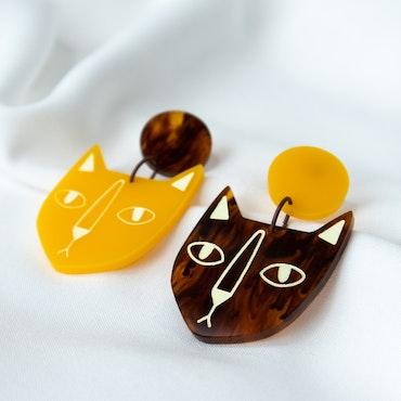 KATT (bärnsten/mango)